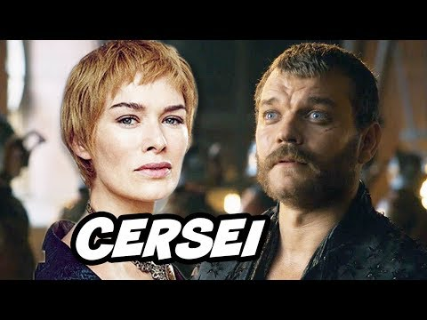 Game Of Thrones Season 7 Cersei Lannister and Euron Greyjoy