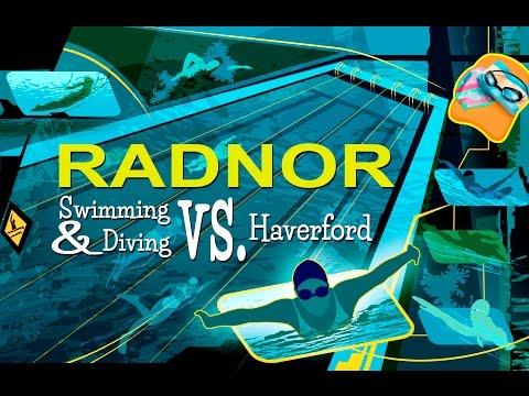RADSPORTS 2017: Radnor Swimming & Diving vs. Haverford