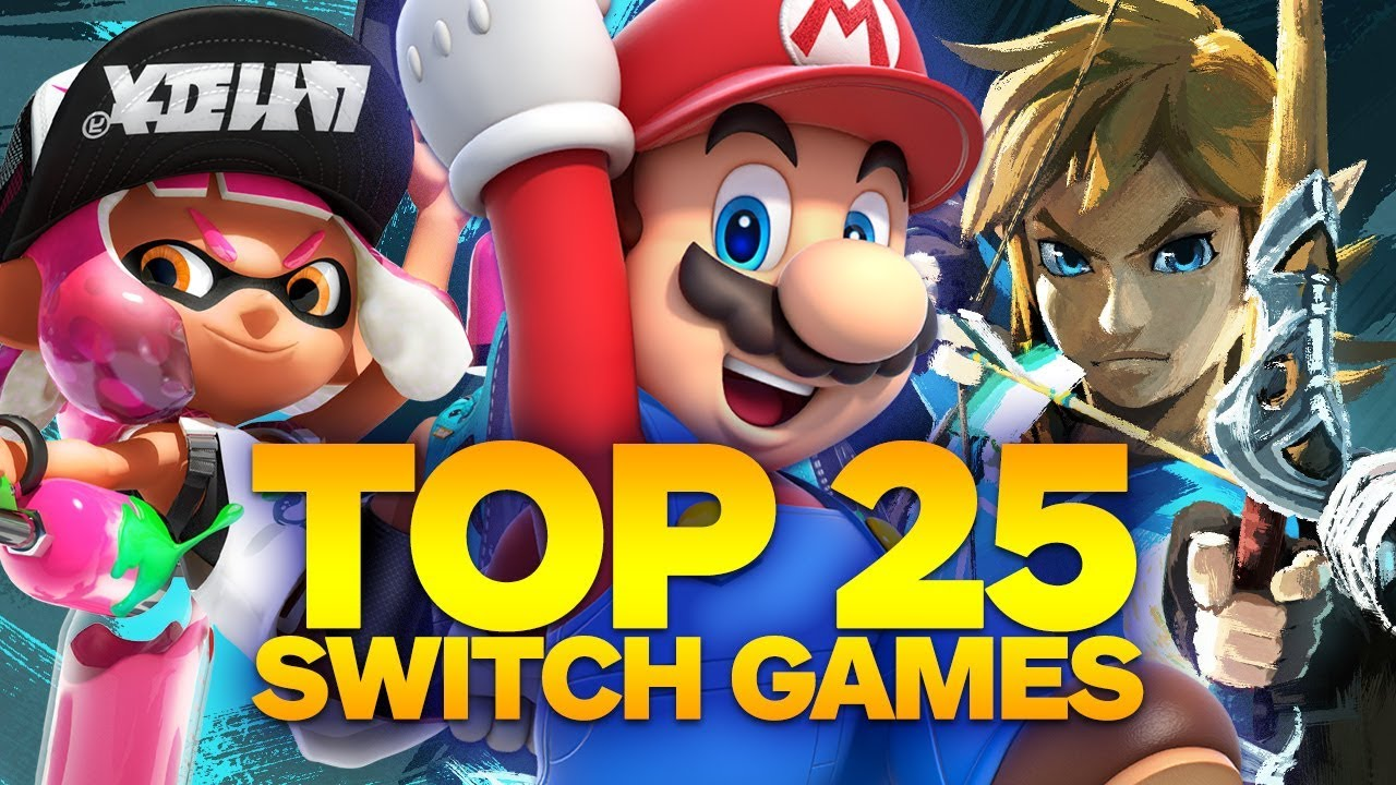 0c6f6c44cefba Top 25 Nintendo Switch Games (Fall 2017) - YouTube
