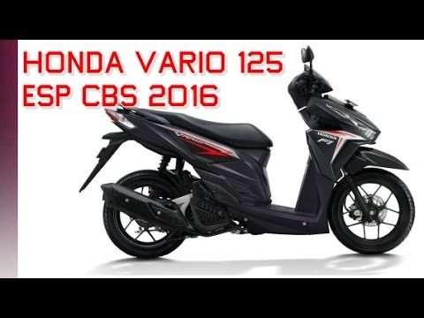 Pilihan Warna Honda Vario 125 eSP CBS 2016 Terbaru - YouTube