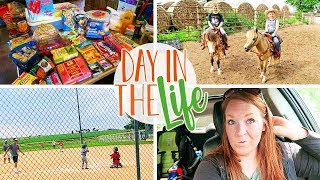 Day In The Life Vlog of a Stay at Home Mom | Walmart Haul