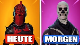 After ROTE RITTERIN now also the SKELETT SKIN? - Fortnite Battle Royale | The Fruit Dwarf