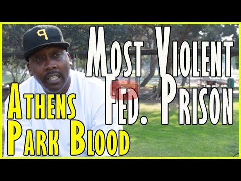 Athens Park Blood On Doing Time W/ John Gotti & Being In USA's Most Violent Federal Prison (pt.2of2)