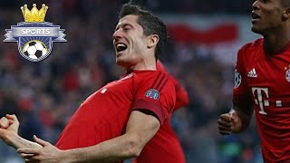 Lewandowski HAT TRICK, 10 Goals Last THREE GAMES [Bayern 5-0 Dinamo Zagreb]