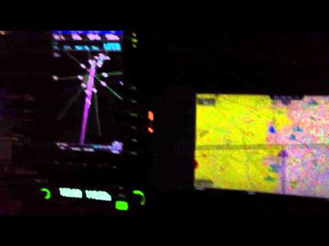 Approaching Fort Stockton at night in a high tech Searey LSX