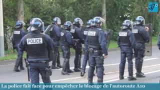 Manifestation contre la Loi Travail à Tours, le 19 mai 2016