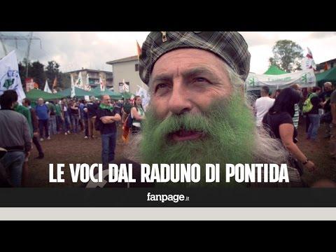 """Lega, tanti meridionali al raduno di Pontida: """"Loro ci accettano"""""""