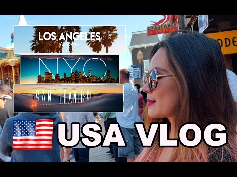 AMERICA TRIP  VLOG (SAN FRANCISCO, NEW YORK, LOS ANGELES)