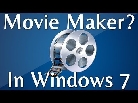 windows movie maker in windows 7 http www showmehowtodothis windows
