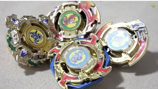 Beyblade DELUXE GOLD SET Unboxing & Review (Sonokong Top Blade) - Beyblade Plastic Generation