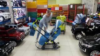 Обзор санок колясок Ника детям 7-3 2017г.
