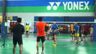 Modesliga Badminton League Season 4 Match Day 6 (15/12/2012)