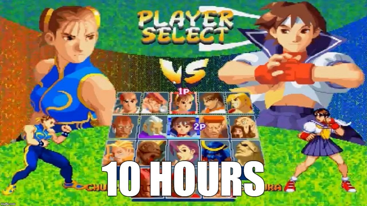Street Fighter Alpha 2 Character Select Theme Extended 10 Hours Youtube