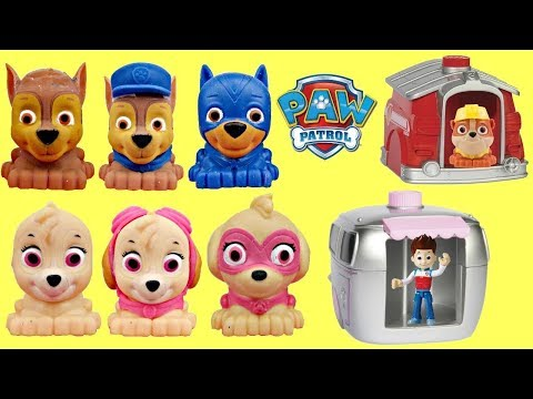 Nick Jr. PAW PATROL Mashems Super Pup Magical House Transformation, Solving Riddle Skye Chase / TUYC
