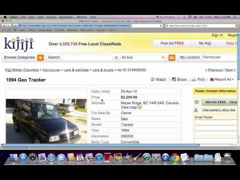 Kijiji Used Cars for Sale by Owner