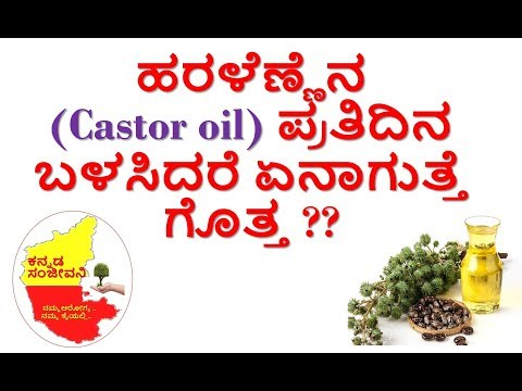 Castor Oil health benefits in Kannada | Uses of Castor Oil | Kannada Sanjeevani thumbnail