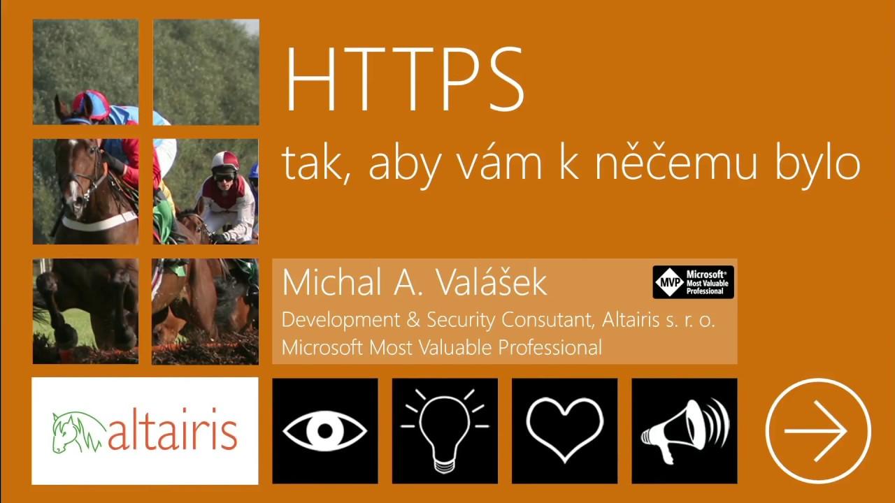 HTTPS tak, aby vám k něčemu bylo