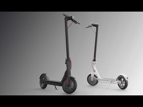 xiaomi mijia mi electric scooter review youtube. Black Bedroom Furniture Sets. Home Design Ideas