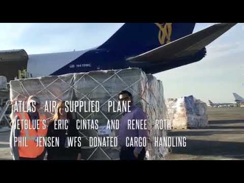 Hay Delivery Puerto Rico 6 October 2017 following Hurricane Maria