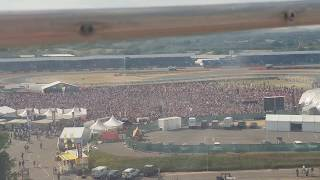 """England Fans Chant """"ITS COMING HOME"""" At F1 Silverstone Grand Prix"""