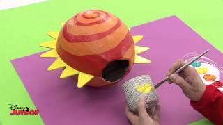Art Attack! - Eco - Hot Air Balloon Plant Basket! - Disney Junior UK HD