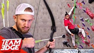 Shoot The Rock Climber!!