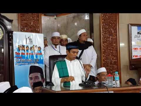 Ustadz Abdul Somad Lc MA di Rawamangun, Jakarta Timur , Masjid Babussalam 24 Februari 2018