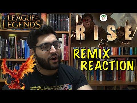 RISE REMIX FT. BOBBY (바비) of iKON REACTION