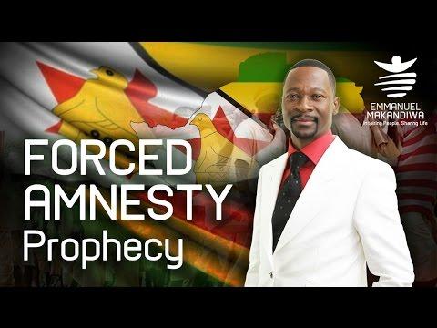 Emmanuel Makandiwa - Forced Amnesty Prophecy fulfilled