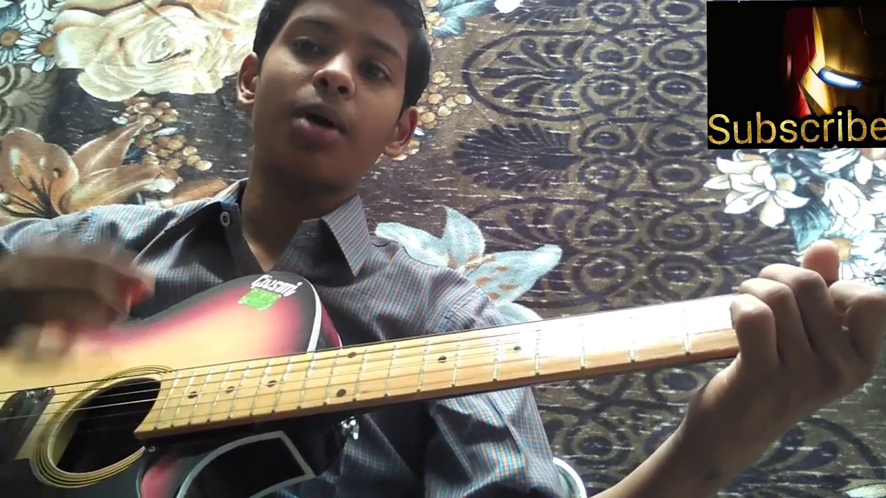 Kabhi Jo Badal Barse Guitar Tutorial - YouTube