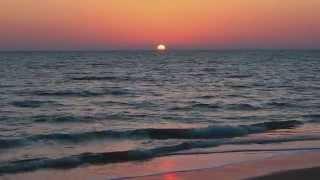 Закат на пляже Кола, Гоа, Индия