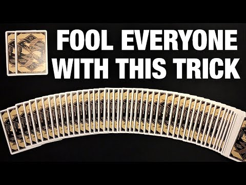 This EPIC Card Trick Will Shock and Amaze EVERYONE!