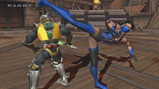[TAS] Mortal Kombat Armageddon - Kitana Umk   ENDURANCE (Wii)