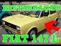 Restauração do FIAT/147 L - 1979/1979 - VERDE