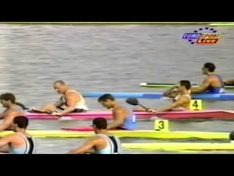 1996 Atlanta Olympics Canoeing Men&39;s K-2 500 m Final  16:9