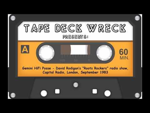 "Gemini HiFi Posse - David Rodigan's ""Roots Rockers"" radio show, Capital Radio, London, Sept 1983"