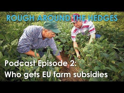 Ep. 2 Food Politics Part 2 - Who gets EU farm subsidies