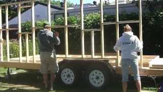 Building A Tiny Home On A Camper Trailer Part One