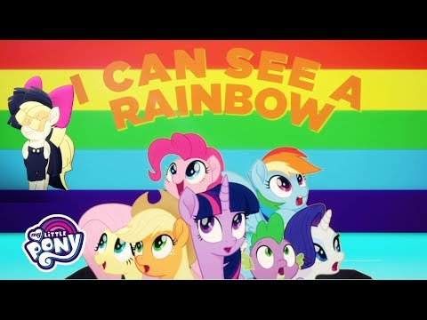 My Little Pony: The Movie - Official 'Rainbow' 🌈  Lyric Music Video by Sia