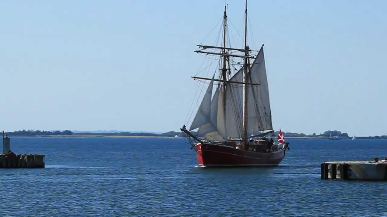 old sailing ships visiting assens youtube