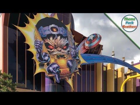 Marvel Super Hero Island Universal Islands of Adventure Walk Through