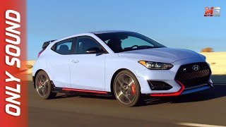 New hyundai veloster n 2018 - first test drive only sound