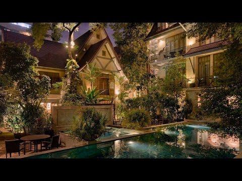 AriyasomVilla Luxury Boutique Hotel - Bangkok, Thailand - Varighed: 0:53.