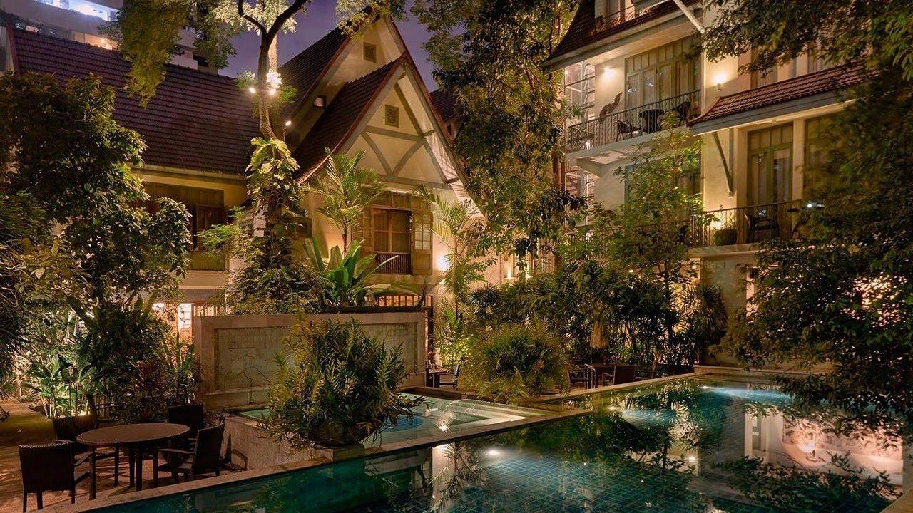 Ariyasomvilla Luxury Boutique Hotel Bangkok Thailand Youtube