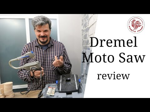 Обзор настольного станка Dremel Moto-Saw Review / Отзыв реального владельца. Плюсы и недостатки
