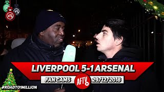 Liverpool 5-1 Arsenal | Our Defending Has Not Improved Since Wenger Left!!