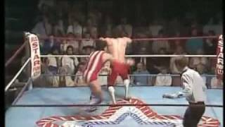 World Of Sport - Fuji Yamada (Jushin Liger) vs Mark Rollerball Rocco pt.3