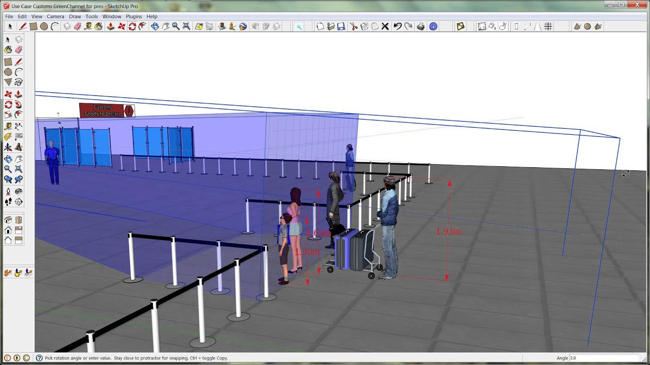 Cctv design sketchup hd youtube for Cctv layout software