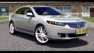 City Car Driving - Honda Accord VIII   + Download [LINK]   1080p & 60FPS