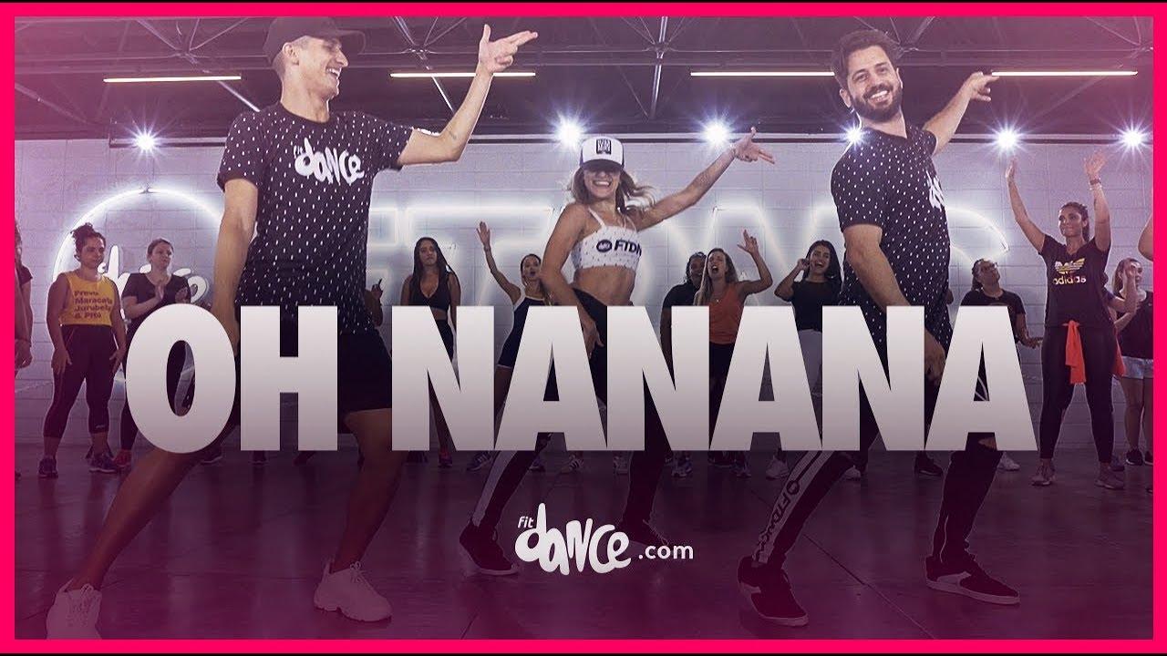 Oh Nanana Bonde R300 Fitdance Tv Coreografia Oficial Youtube
